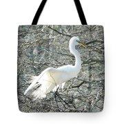 Egret Lake Martin Louisiana Rookery Tote Bag
