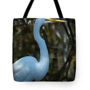 Egret Of Sanibel 3 Tote Bag