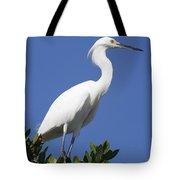 Egret Outlook Tote Bag