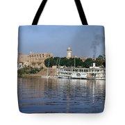 Egypt - Nile Steamboat Tote Bag