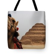 Egypt Step Pyramid Saqqara Tote Bag