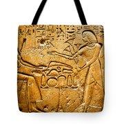 Egyptian Hieroglyphics Tote Bag