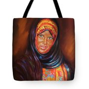 Egyptian Nubian Girl Tote Bag