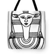 Egyptian Symbol Hathor Tote Bag