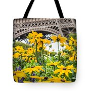 Eiffel Flower Tote Bag