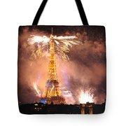 Eiffel Hat Tote Bag