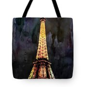 Eiffel Tower-3 Tote Bag