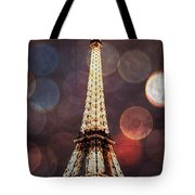 Eiffel Tower-4 Tote Bag