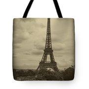 Eiffel Tower Tote Bag by Debra and Dave Vanderlaan