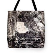 Eiffel Tower Elevator Shop C. 1888 Tote Bag