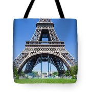 Eiffel Tower Lower Part Paris Tote Bag