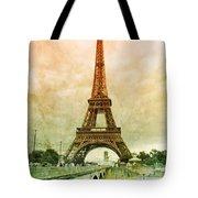 Eiffel Tower Mood Tote Bag
