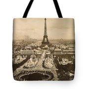 Eiffel Tower, Paris, 1900 Tote Bag