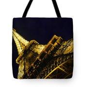 Eiffel Tower Paris France Side Tote Bag