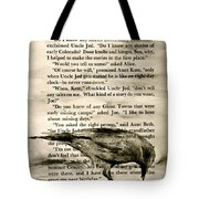 Eight Day Clock Tote Bag