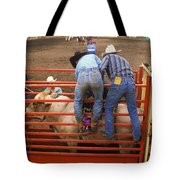 Rodeo Eight Seconds To Payday Tote Bag