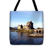 Eilean Donan Castle Kintail Scotland Tote Bag