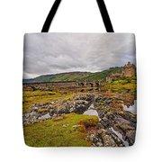 Eilean Donan Castle Dornie Tote Bag