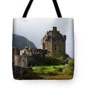 Eilean Donan Castle In Kyle Of Lochalsh Tote Bag