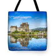 Eilean Donan Castle Reflections 2 Tote Bag