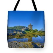 Eilean Donan Reflections Tote Bag