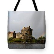 Eilean Donan With A Rainbow Tote Bag