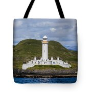 Eilean Musdile Lighthouse Tote Bag