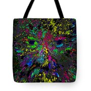 Einsteins Exploding Head Tote Bag