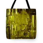 Einstein In Crystal - Yellow Tote Bag