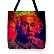 Einstein - Pop Art Tote Bag
