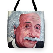 Einstein Tote Bag
