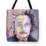 Einstein's Art And Science  Tote Bag