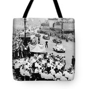 Eisenhower Victory Parade Tote Bag