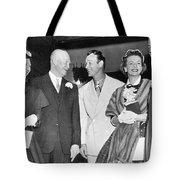 Eisenhowers At Easter Tote Bag