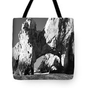 El Arco In Black And White Tote Bag