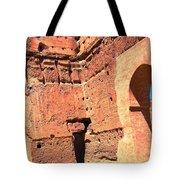 El Badi Palace 5 Tote Bag