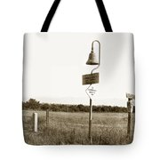El Camino Real Mission Bell Near San Fernando Mission California 1906 Tote Bag