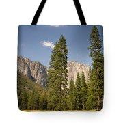 El Capitan And Yosemite Valley Tote Bag