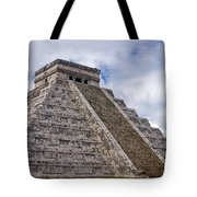El Castillo Tote Bag by Adam Romanowicz