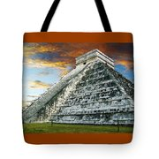 El Castillo Tote Bag