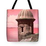 El Morro In The Pink Tote Bag