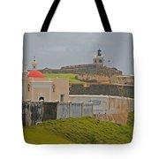 Scenic El Morro Tote Bag