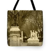 El Prado Boulevard Madrid Spain Tote Bag