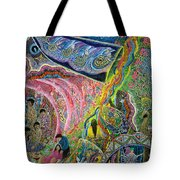 VIDA Tote Bag - Trippy 2 by VIDA HHnZAuV