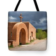 El Santuario De Chimayo Cross Tote Bag