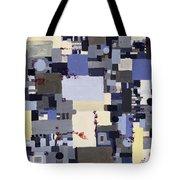 Elastic Dialog Tote Bag