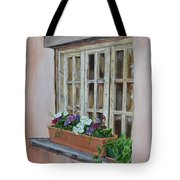 Elayne Look Through The Window Tote Bag