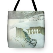 Elbpark In Hamburg Tote Bag by Fritz Thaulow