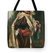 Elderly Moroccan Jew, 1867 Oil On Canvas Tote Bag