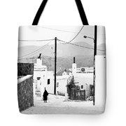 Elderly Woman In Asclipio Tote Bag